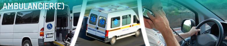 Annuaire des formations pour le métier Ambulancier