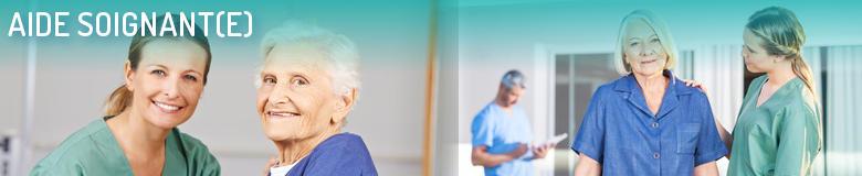 Annuaire des formations pour le métier Aide-soignant