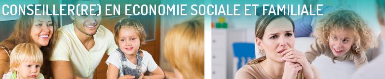 Conseiller en économie sociale et familiale - PAU