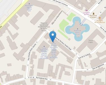 Adresse CPAM d'Eure-et-Loir - accueil de Chartres