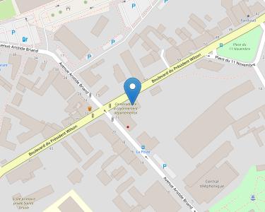 Adresse CPAM du Jura - accueil de Dole