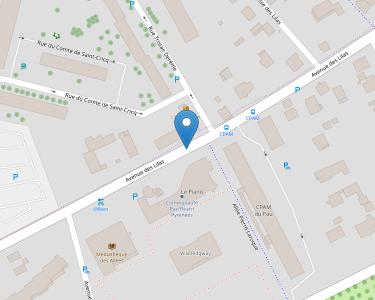 Adresse CPAM de Pau-Pyrénées - siège de Pau