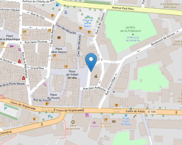 Adresse MDPH 07 - Ardèche