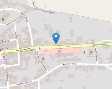 Adresse ASSOCIATION DE L'ABBATIALE DE CORMERY