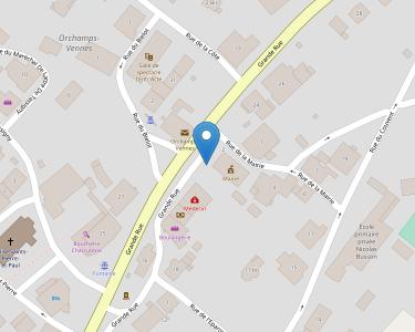 Adresse ADMR SECTION ORCHAMPS-VENN