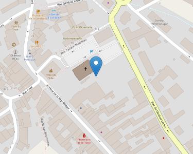 Adresse CCAS DE CHAMPAGNOLE