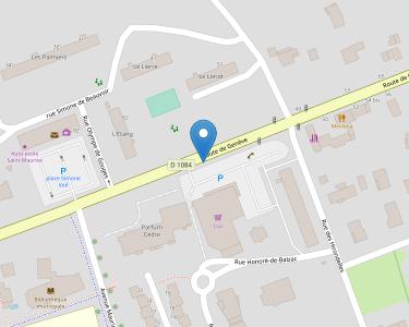 Adresse Caf de l'Ain - Point relais de Saint-Maurice-de-Beynost