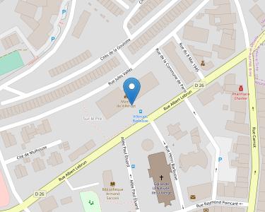 Adresse Caf de Meurthe-et-Moselle - Point relais de Villerupt