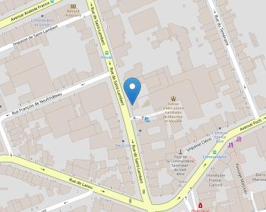 Adresse Caf de Meurthe-et-Moselle - Siège de Nancy - Centre