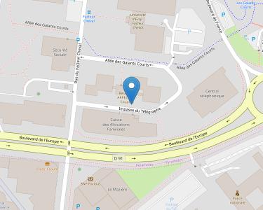 Adresse Caf de l'Essonne - MSAP d'Éry