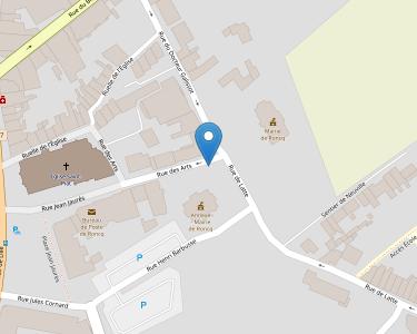 Adresse Caf du Nord - Point relais de Roncq