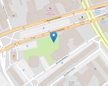 Adresse Caf du Nord - Accueil de Roubaix