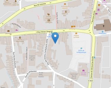 Adresse Caf du Nord - Point relais de Jeumont