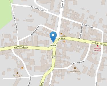 Adresse Caf du Cher - Point relais de Chateaumeillant