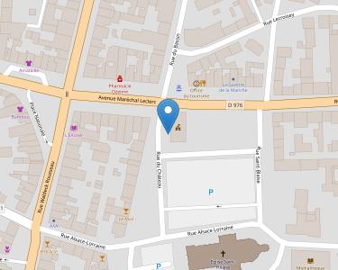 Adresse CPAM de Manche - accueil de Saint-Hilaire-du-Harcouët