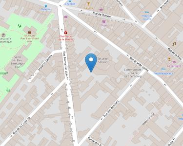 Adresse CPAM de Manche - accueil de Cherbourg-Octeille