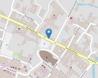 Adresse CPAM de Loire-Atlantique - accueil de Machecoul