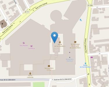 Adresse CPAM des Hauts-de-Seine - accueil de Genneilliers