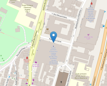 Adresse CPAM des Bouches-du-Rhône - Agence Les Chartreux