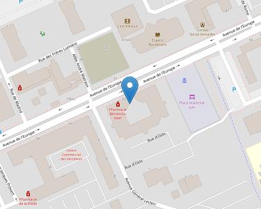 Adresse CPAM du Rhône - accueil de Rillieux-la-Pape