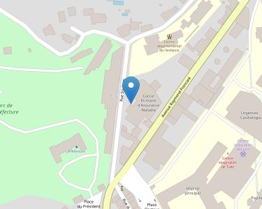 Adresse CPAM de Corrèze - siège de Tulle