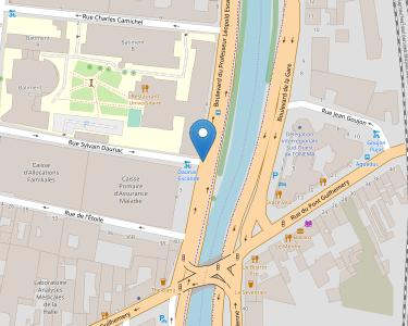 Adresse CPAM de Haute-Garonne - accueil de Toulouse - Centre