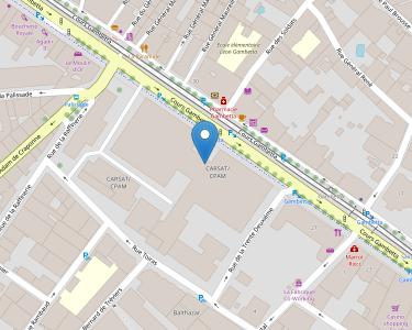 Adresse CPAM de l'Hérault - accueil de Montpellier - Gambetta