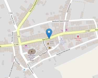 Adresse CCAS DE BELLEGARDE EN MARCHE