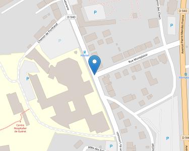 Adresse CENTRE HOSPITALIER DE GUERET
