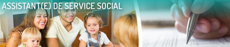 Assistant de service social - POITIERS