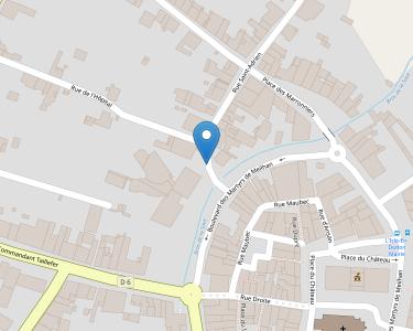 Adresse E.H.P.A.D. FAUX BOURG SAINT ADRIEN