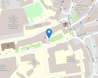 Adresse HOPITAUX UNIVERSITAIRES DE STRASBOURG