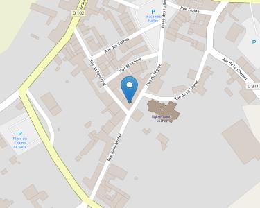 Adresse CCAS DE CHAMPAGNE MOUTON