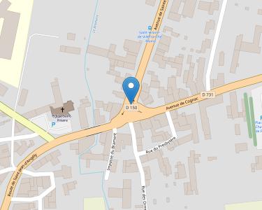 Adresse CCAS DE ST HILAIRE DE VILLEFRANCHE