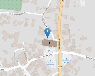 Adresse CCAS DE LA CHAPELLE ST LAURENT