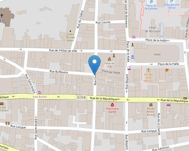 Adresse CCAS DE LA COTE ST ANDRE