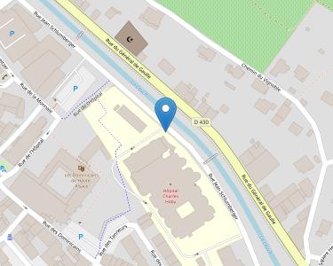 Adresse CENTRE HOSPITALIER DE GUEBWILLER