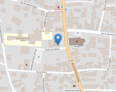 Adresse CCAS DE LA VILLE D'HABSHEIM