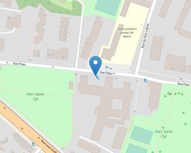 Adresse ASSOCIATION SAINT-CYR - MAISON DE RETRAITE