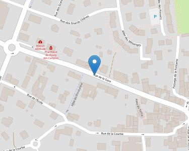 Adresse CCAS BOURG DES COMPTES