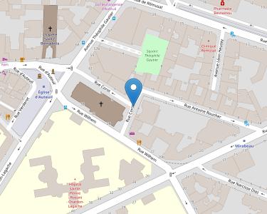 Adresse CENTRE COROT - ENTRAIDE D'AUTEUIL