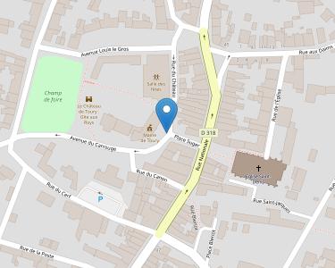 Adresse CCAS DE TOURY