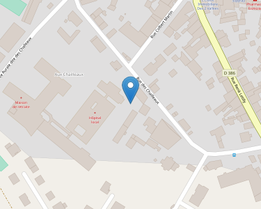 Adresse CENTRE HOSPITALIER FISMES