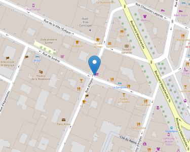 Adresse CENTRE LOGEMENT JEUNES TRAVAILLEURS