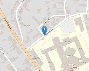 Adresse CENTRE HOSPITALIER DE CHAUMONT