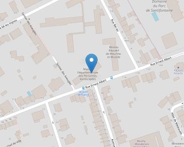 Adresse MDPH 54 - Meurthe-et-Moselle
