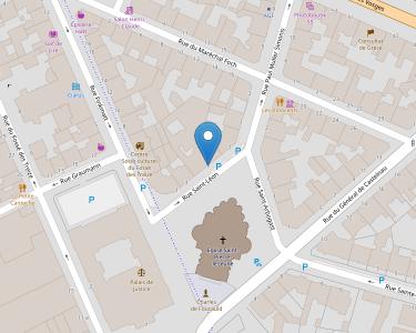 Adresse FEDERATION DE CHARITE DU DIOCESE DE STRASBOURG