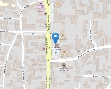Adresse ASSOCIATION DU CENTRE SOCIO-CULTUREL DE HOENHEIM