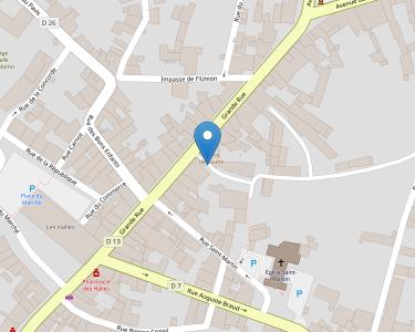 Adresse CENTRE INTERCOMMUNAL D'ACTION SOCIALE (C.I.A.S.) - COMM DE COMM REGION DE COUHE