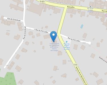 Adresse Caf des Vosges - MSAP de Bruyères